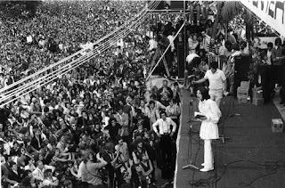 10. The Rolling Stones em Altamont, 1969