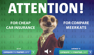 compare the market compare the meerkat