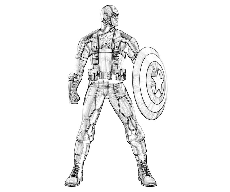 marvel-vs-capcom-captain-america-character-coloring-pages