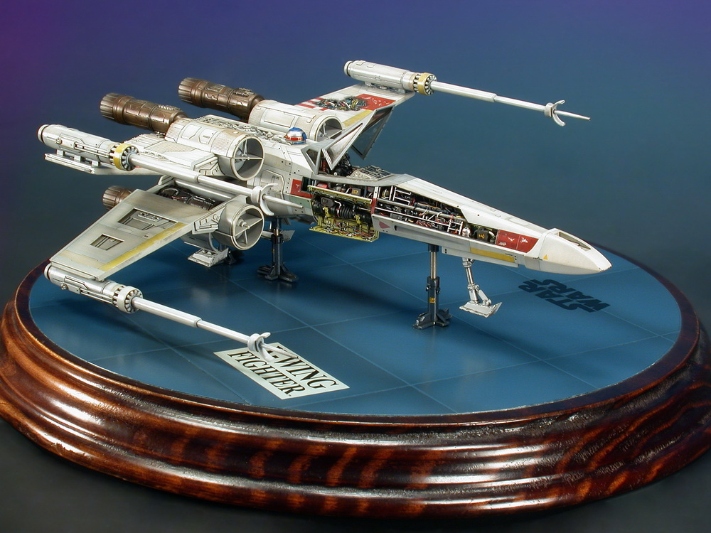 "The ""Captured X-Wing"" work."