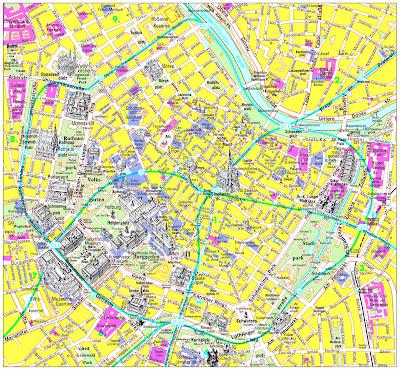 mapa de viena