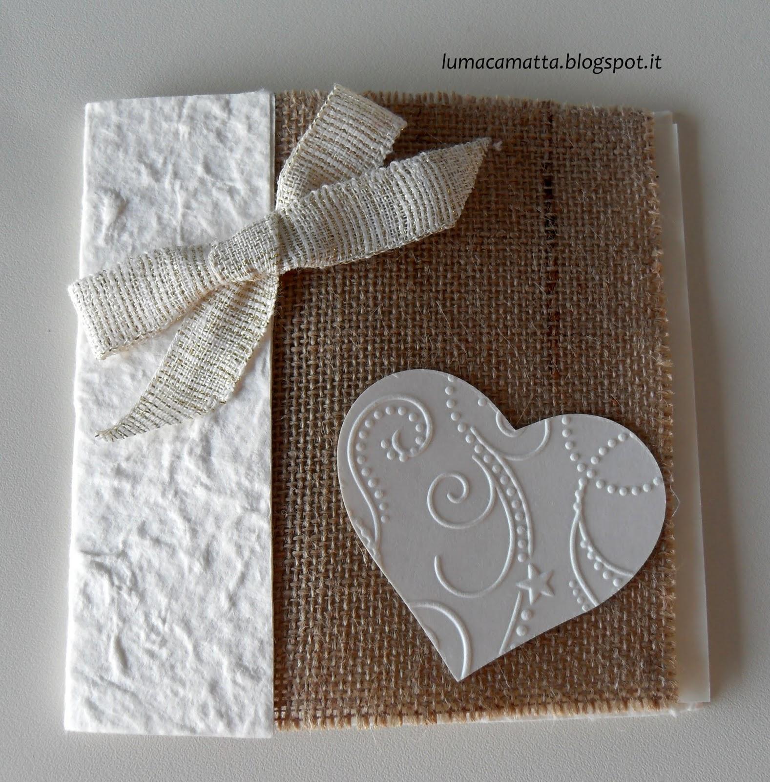 Partecipazioni Matrimonio In Juta : Lumaca matta handmade with love partecipazione di nozze