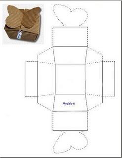 Modelos de cajas para bisuteria