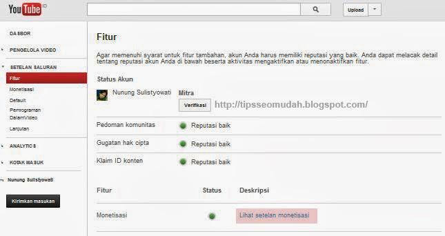 cara daftar adsense google langkah 7