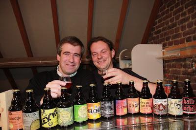 Davy Spiessens and Glenn Castelein of Picobrouwerij Alvinne
