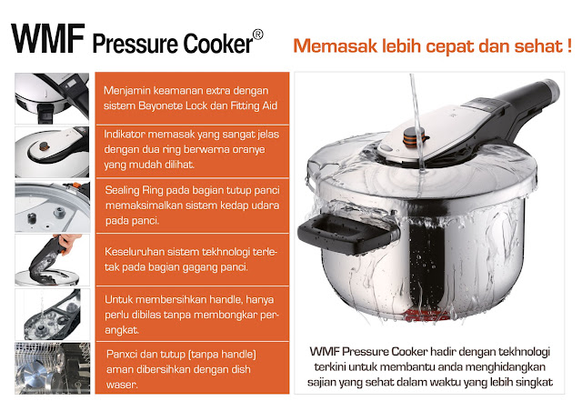 Keunggulan WMF Preassure Cooker