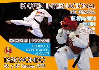 TAEKWONDO-El Open de España termina con 87 medallas conseguidas por los españoles