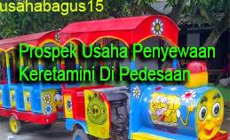 odong yaitu homogen alat transportasi hiburan untuk anak Prospek Usaha Kereta Mini Di Pedesaan