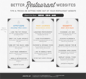 Screen shot of Better-Restaurant-Websites.com