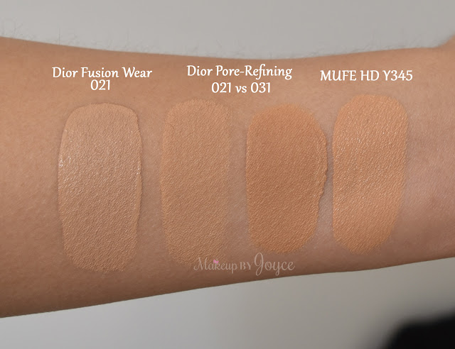 Dior Forever Foundation New vs Old Formula Review Swatch