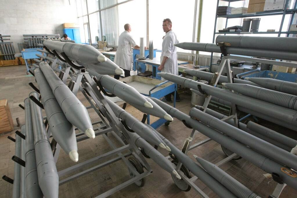 Bombe rusești pe linia de producție