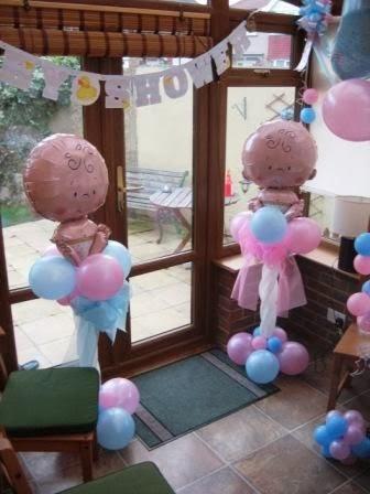 como decorar un baby shower con globos casas decoracion holidays oo