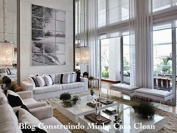 decoracao de interiores cortinas para sala – Doitri.com