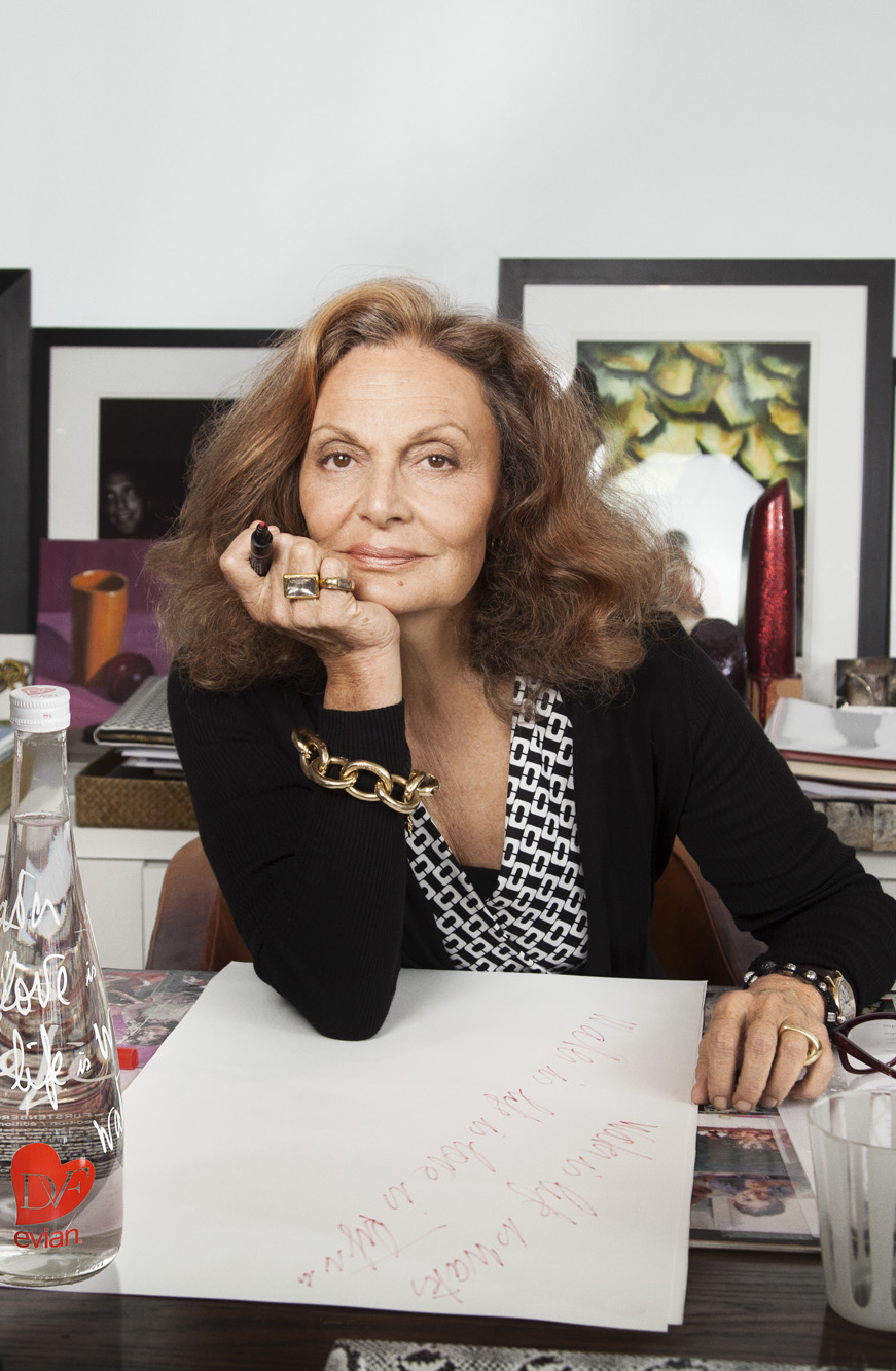via fashioned by love | Diane von Furstenberg Biography
