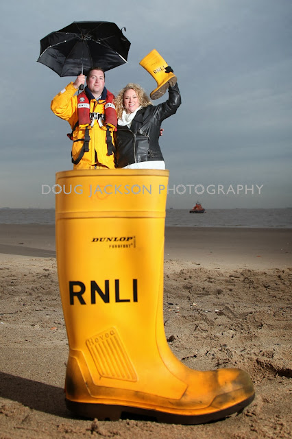 Lifeboat - PR Launch pictures - Rnli Wellies
