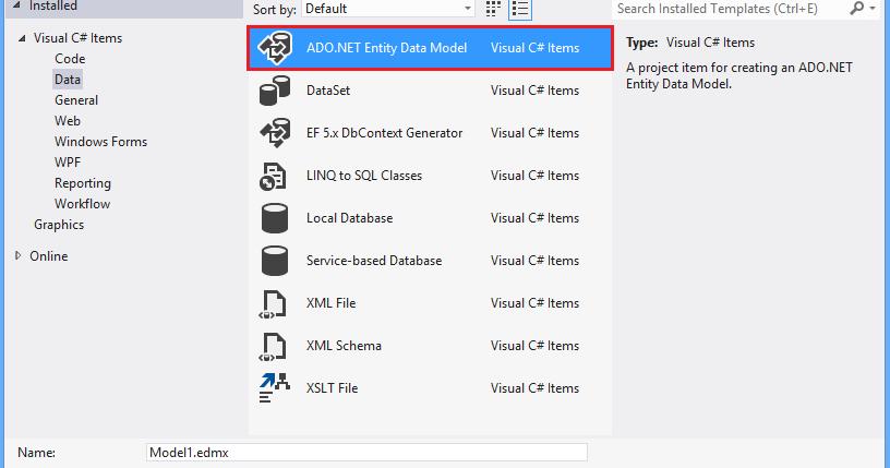 Microsoft Ado Net Entity Framework Step By Step