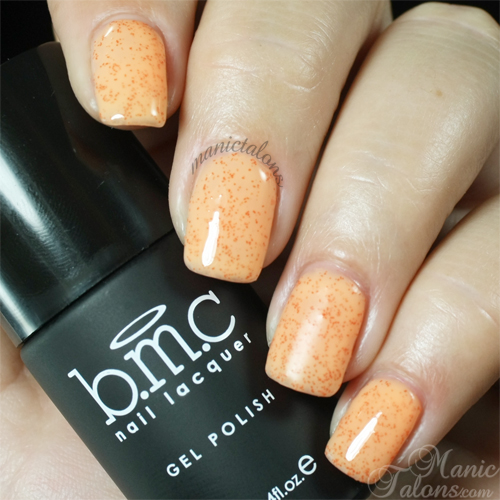 BMC Gel Polish Papaya Passion Swatch