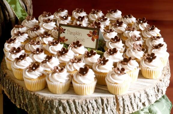 Beautiful Bridal Rustic Cupcake Stands
