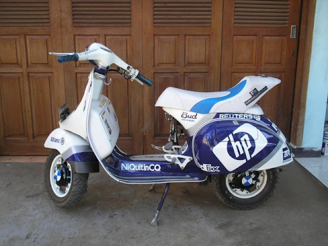 750+ Modifikasi Vespa