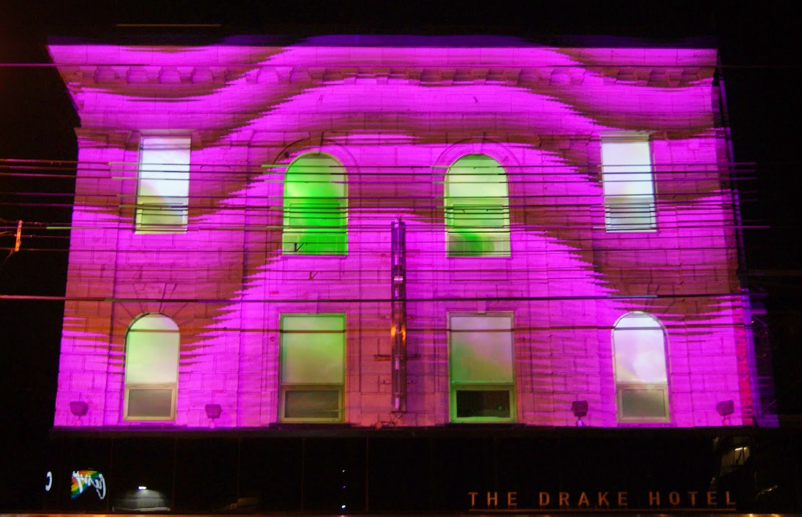 Toronto Nuit Blanche 2014: Safe Space, Drake Hotel, Culture, Art, Artmatters, Installation, Performance, The Purple Scarf, Video, Melanie.Ps, Ontario, Canada