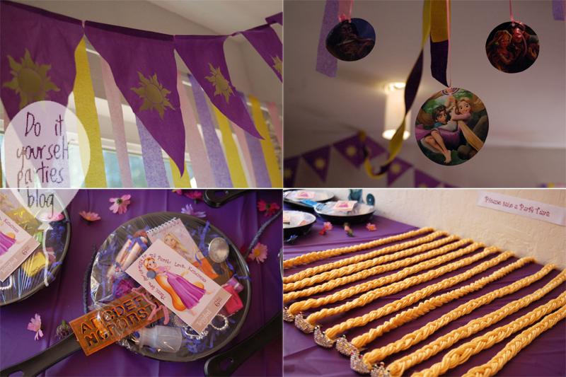 Tangled Birthday Party Ideas Rapunzel