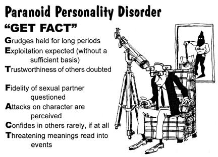 an analysis of paranoid personality disorder as a disorder commonly mistaken for schizophrenic perso (prostějovsko) myslivci bijí na poplach v našich luzích a hájích řádí nemilosrdný predátor zajíc, bažant, koroptev, srnče nic z těchto.