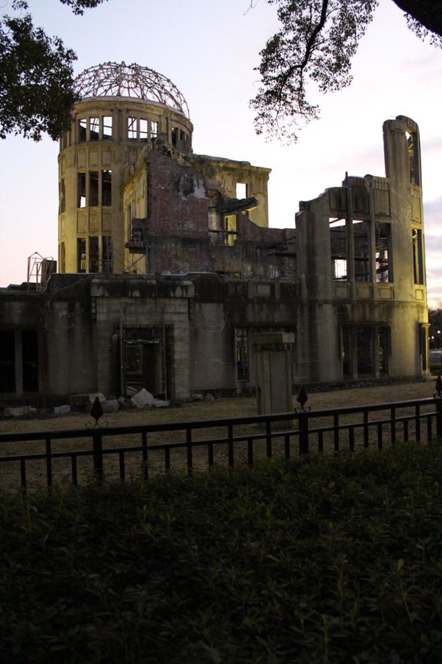 a-bomb building, hiroshima