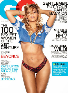 beyonce gq mag cover sexy