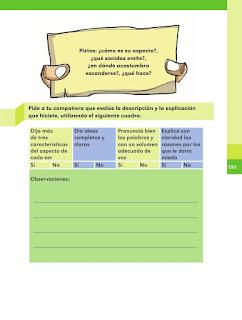 Apoyo Primaria Español 2do grado Bloque 4 lección 18 ¿Cómo es un ser horripilante?