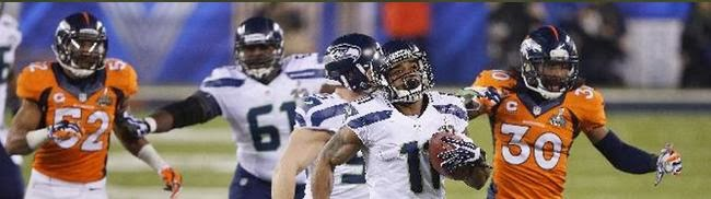 Seattle Seahawks, Peyton Manning, Denver Broncos, Superbowl, Harvin, Russell Wilson