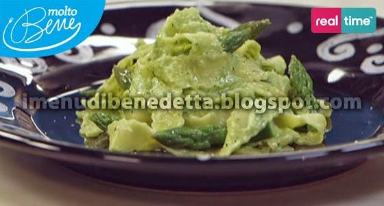 Pappardelle con Pesto di Asparagi di Benedetta Parodi