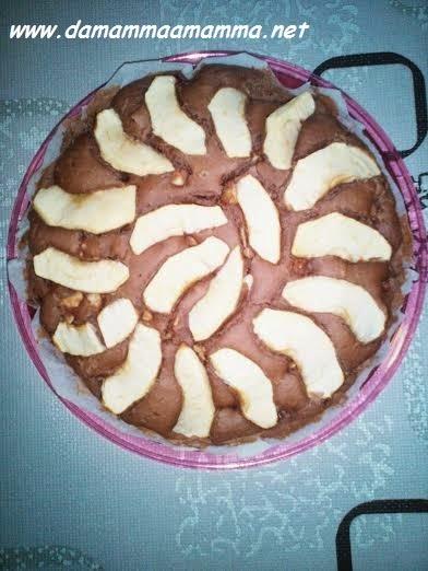 ricetta-torta-cioccolato-e-mele-light-senza-uova-burro-e-latte