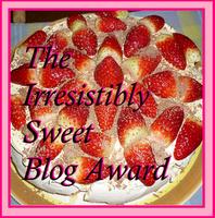 βραβειο ακαταμαχητα γλυκου blog!! απο την Μarie-Meraki