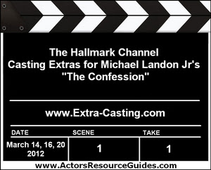 The Confession Extras Casting