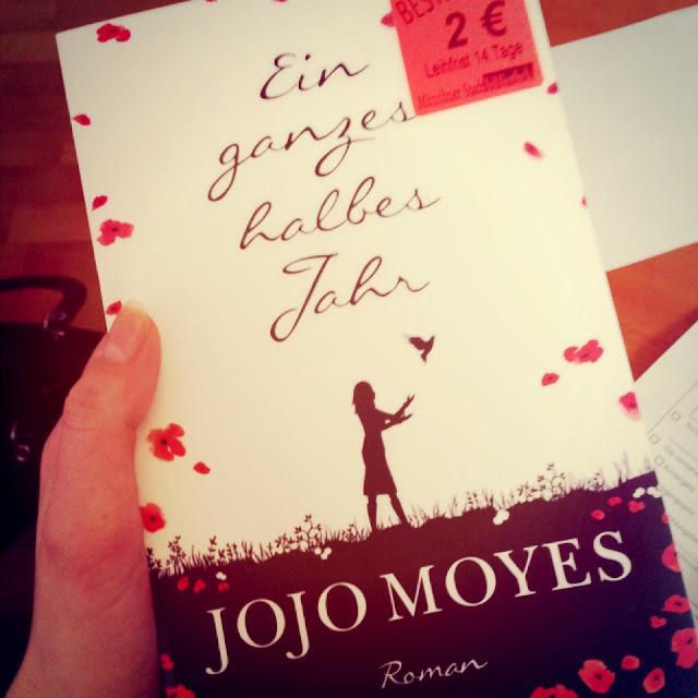 """Fräulein Berger liest: """"Ein ganzes halbes Jahr"""" von Jojo Moyes"""