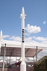 Barak-8 - Paris Air Show 2009