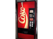 OLD SCHOOL VENDING MACHINE