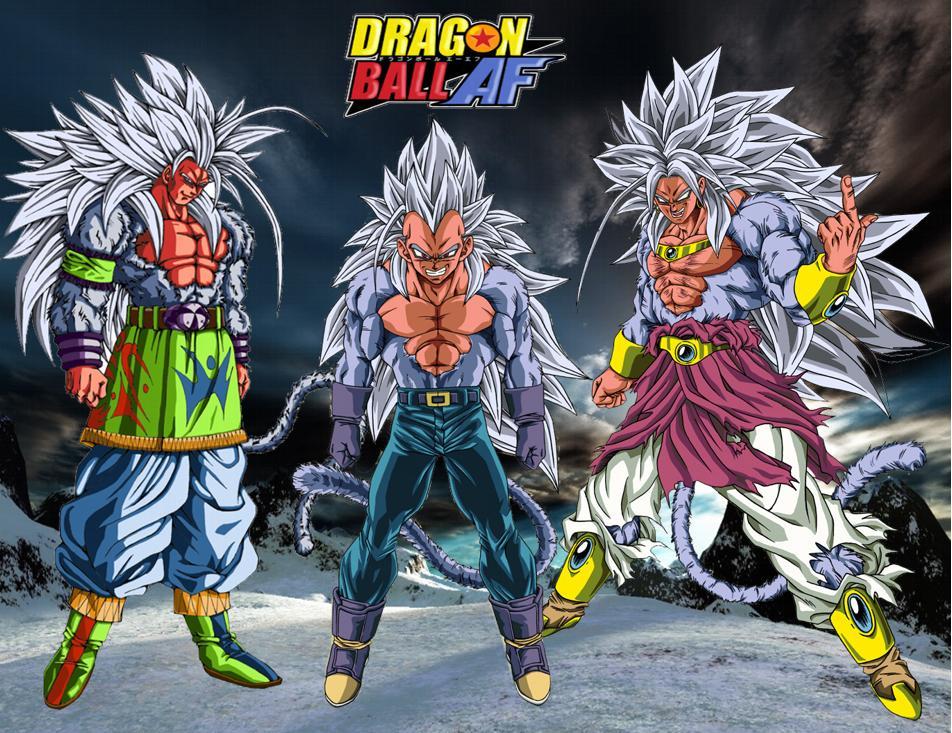 DRAGON BALL Z FANS: MAS IMAGENES DE DRAGON BALL AF Y GT ...