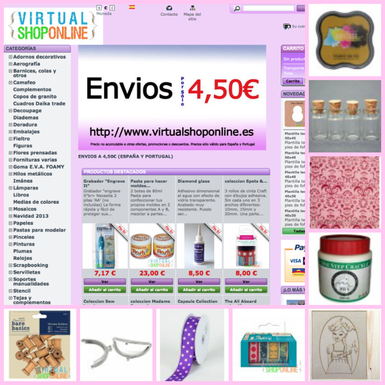 Virtual Shop Online Tienda on line