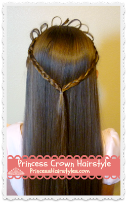 Princess Tiara Made From Hair