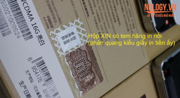 Cách phân biệt Xiaomi Mi4 xịn và nhái
