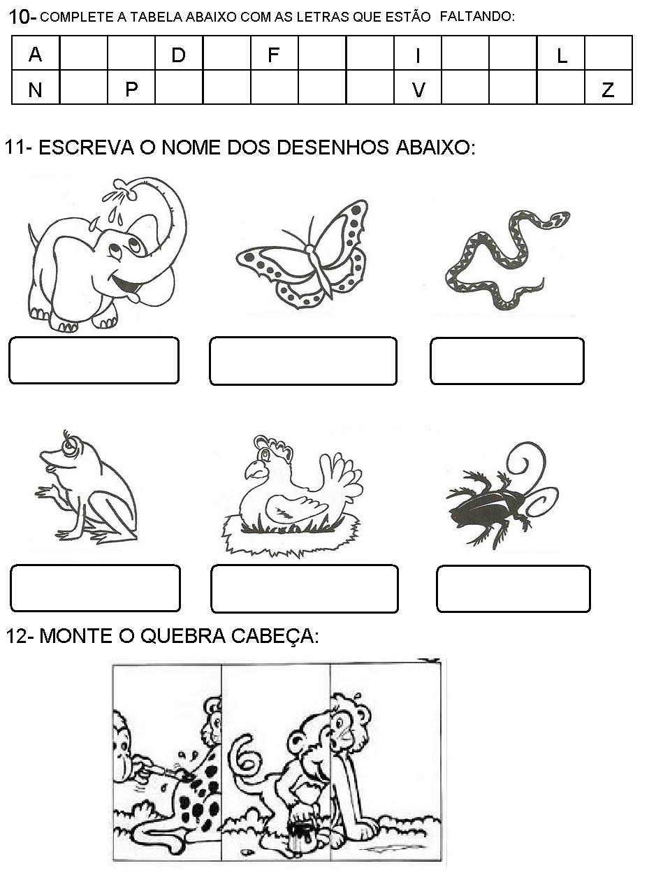 PROVAS 1   ANO TESTES AVALIA    ES ATIVIDADES ENSINO FUNDAMENTAL
