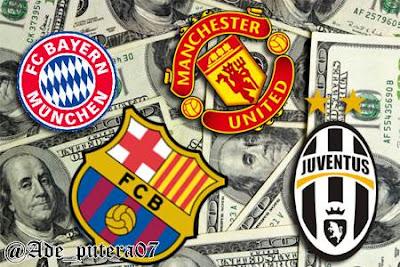 Klub Sepakboola Terkaya di Dunia 2013