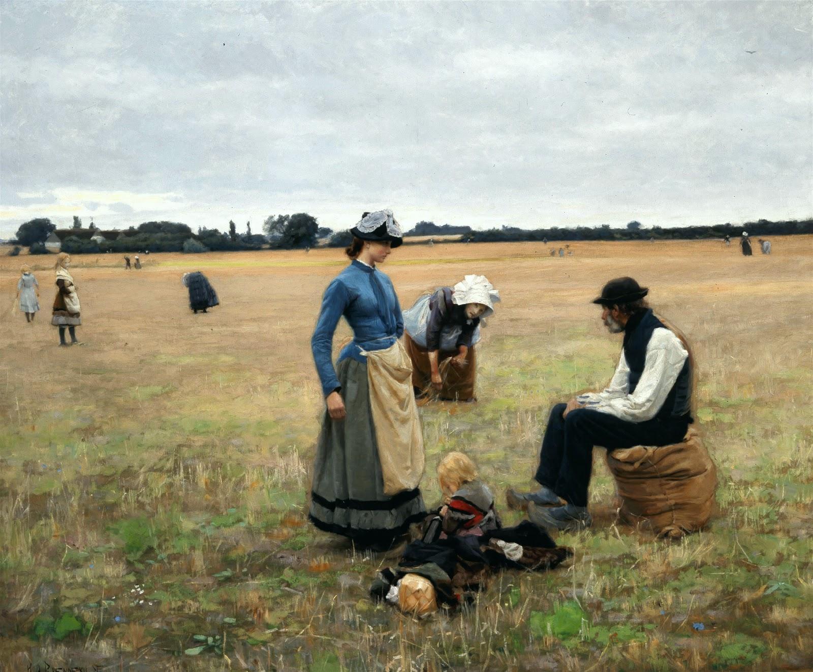 Hans Andersen  rendekilde In the Field