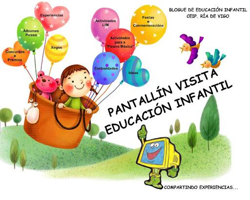 Pantallín visita Educación Infantil