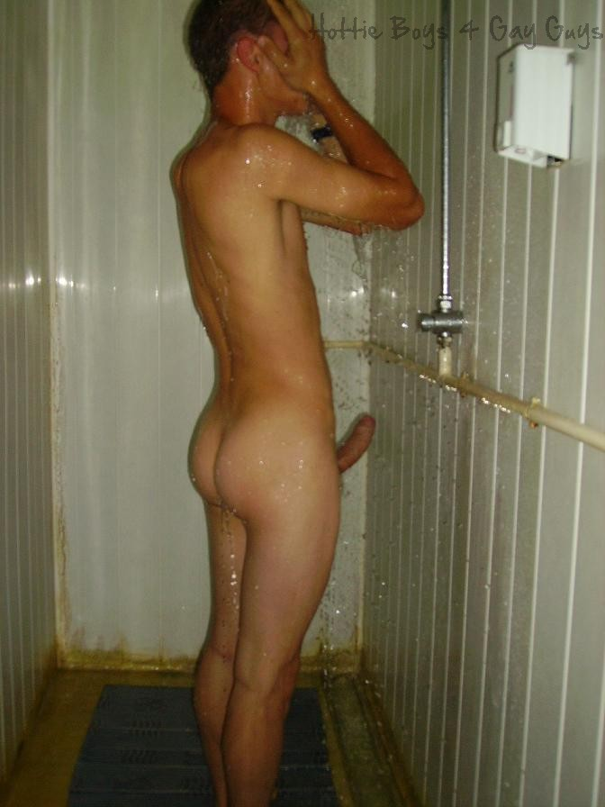 Boys naked young showers
