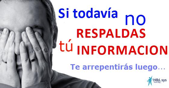 Perder informacion