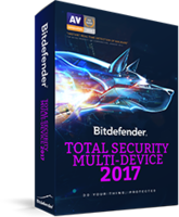 BITDEFENDER TOTAL SECURITY MULTY-DEVICE 2017