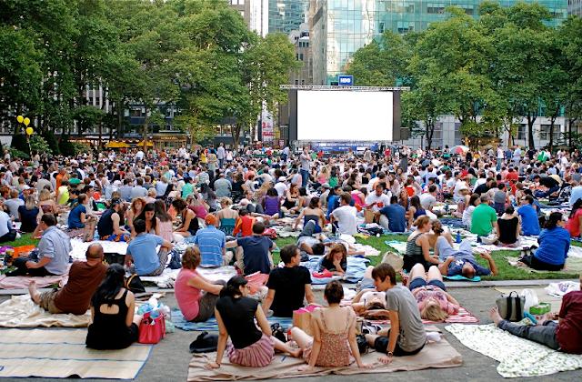 Filmes ao ar livre em Nova York