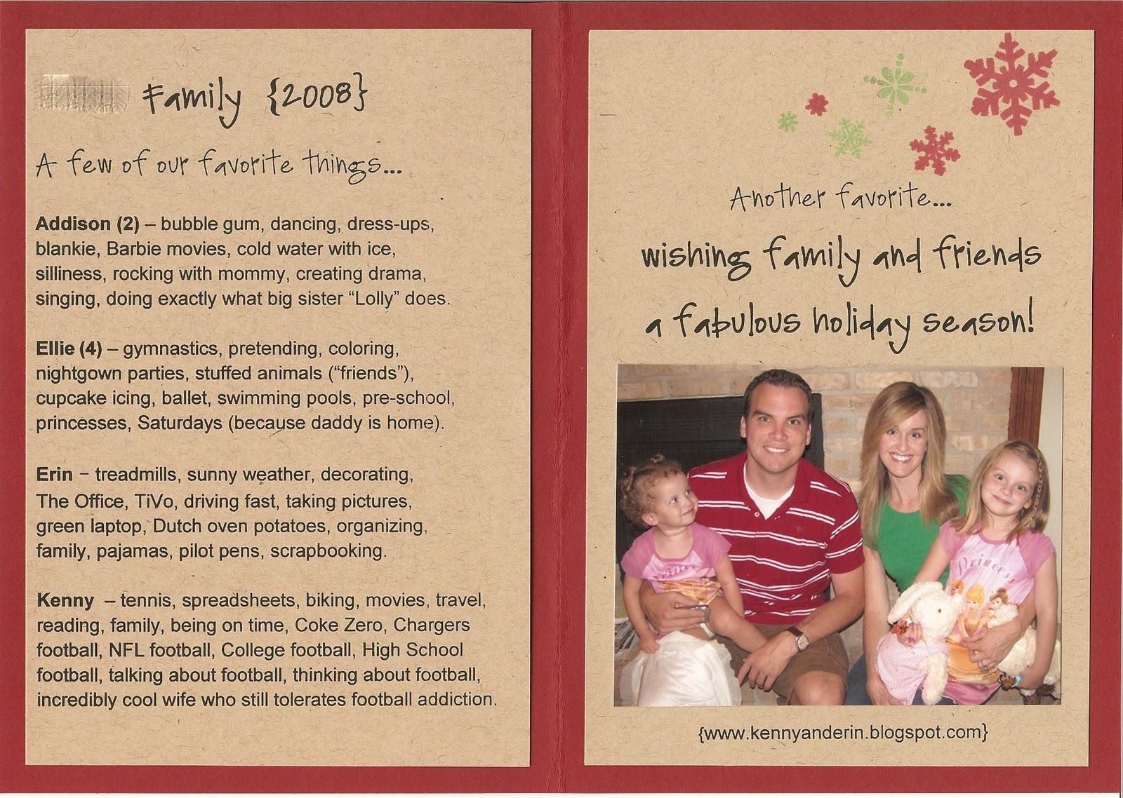 Christmas letter card ideas – Christmas 2018